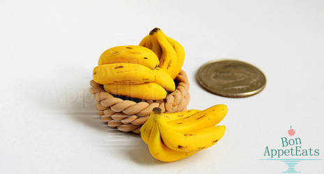 1:12 Banana Bunches by PepperTreeArt