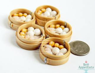 1:12 Dim Sum by PepperTreeArt