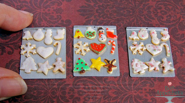 1:12 Christmas Sugar Cookies by PepperTreeArt