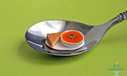 1:12 Tomato Soup and Grilled Cheese by PepperTreeArt