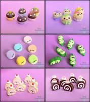 AnimateMiami Cute Food, Set 3 by PepperTreeArt