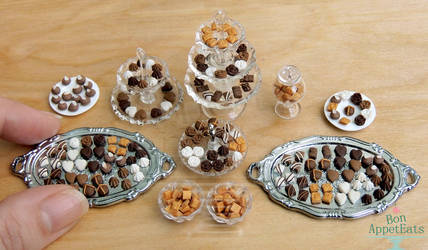 1:12 Chocolates by PepperTreeArt