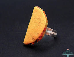 Hard Taco Ring by PepperTreeArt