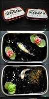 Small Tin Ponds, Set1 by PepperTreeArt