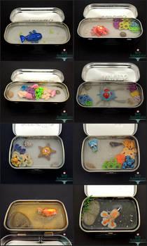 Pokemon Altoids Tins by PepperTreeArt