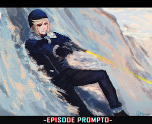 [Final Fantasy XV] Prompto Argentum by Hirisson