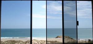 Shades though a Window by Caen-N