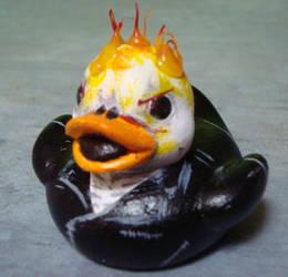 Ghostrider Ducky by Caen-N