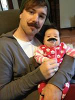 Caen Baby Mustache by Caen-N