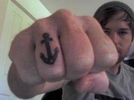 Anchor Tattoo by Caen-N