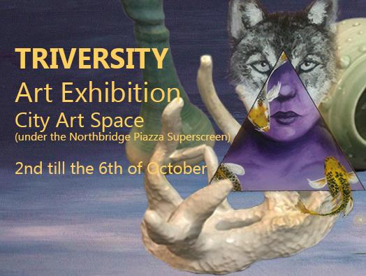 Triversity Exhibition by Caen-N