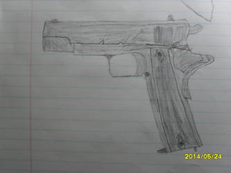 Colt 1911 attempt by PraetorianOverlord