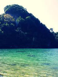 Sempu Island by amririzqi