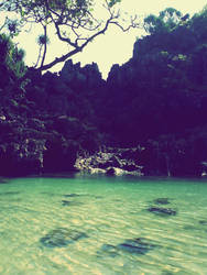 Salty Lake by amririzqi