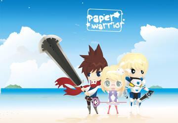 Paper Warrior by amririzqi