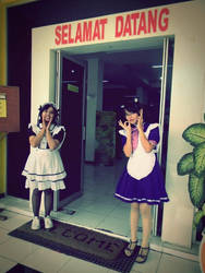 Our welcoming maids by amririzqi