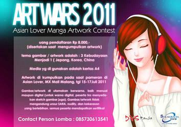 Divisi Manga ArtWars 2011 by amririzqi