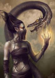Wax Dragon by navate