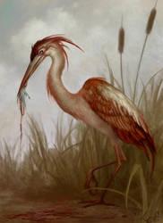 Carnivorous Heron by navate