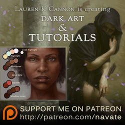 Patreon for ART and TUTORIALS! by navate