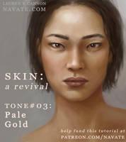 SKIN Tutorial Revival - Pale Gold by navate