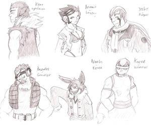 My Soul Silver Team by Illuminatii