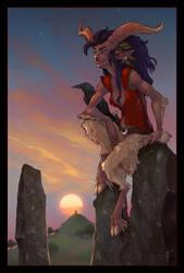 satyra by bonegoddess
