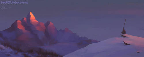 snowcap by bonegoddess