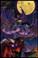 GARGOYLES 1 Comic Cover by bonegoddess