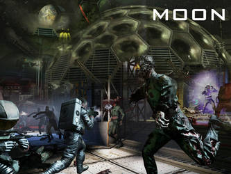 Black Ops Zombies : Moon by Link40
