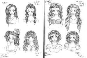Disney Ladies by BeeVuu