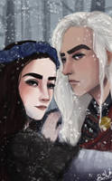 ice and fire by BeeVuu