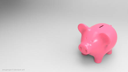 Piggy Bank by anupespe