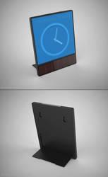 Solar E-ink Alarm Clock by anupespe