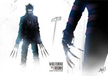 Wolverine vs Freddy by Trustkill-Jonathan