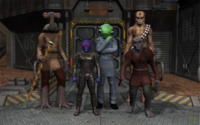 Darkside Elite Trade Division by jpapasso