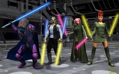 Rogue Jedi by jpapasso