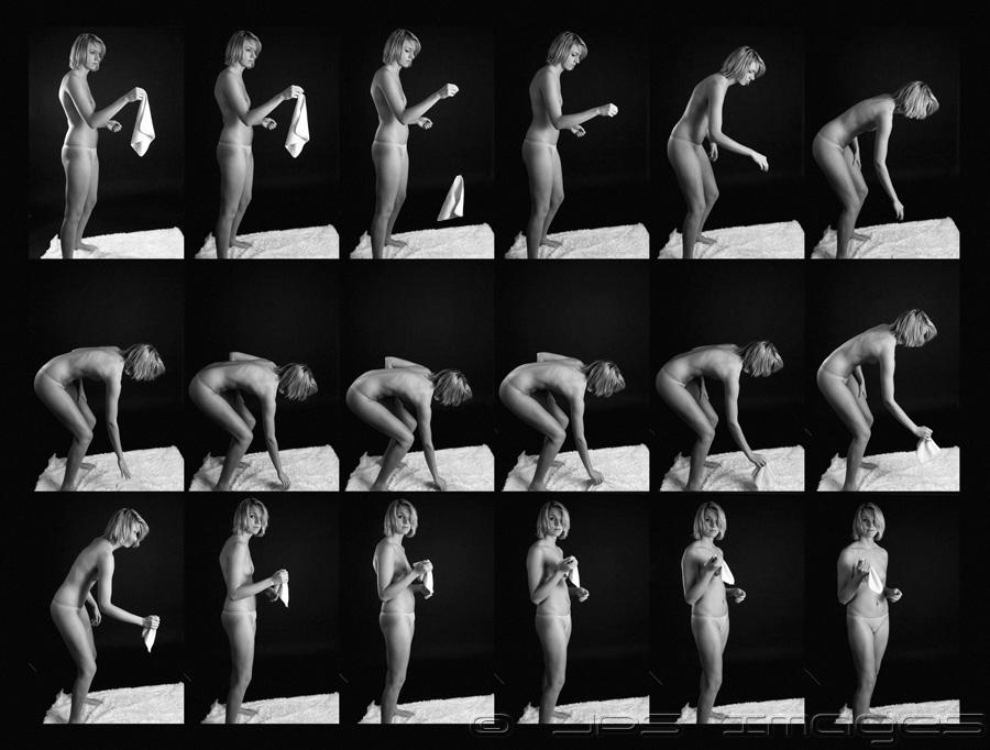 Muybridge Study - Nicole 01 by jpapasso