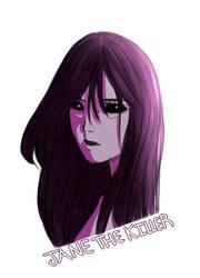 Jane The killer -Sketch- by Whiter028