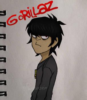 Murdoc -Gorillaz- |Happy Birthday| by Whiter028