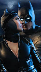 Catwoman and Batman 02 by Selina-Neva
