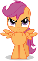 Scootaloo Is Not Amused by Lahirien