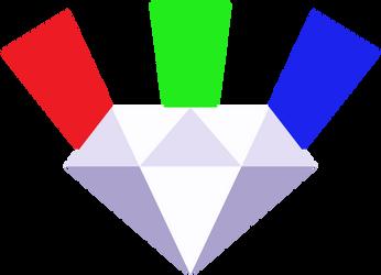 DiamondShine's Cutie Mark [Request] by Lahirien