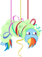 Hang in there, Dashie! by Lahirien