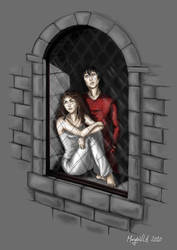 HP - Stars - Hermione + Sirius by Gudulett-e