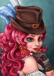 Miss Attic by Gudulett-e