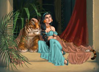 Jasmine + Rajah by Gudulett-e