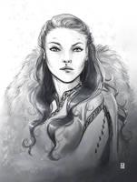 Queen in the North by Gudulett-e