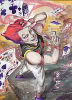 Hisoka by Courtney-Crowe