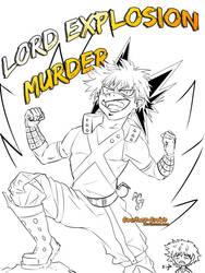 Bakugou aka Lord Explosion Murder by Courtney-Crowe
